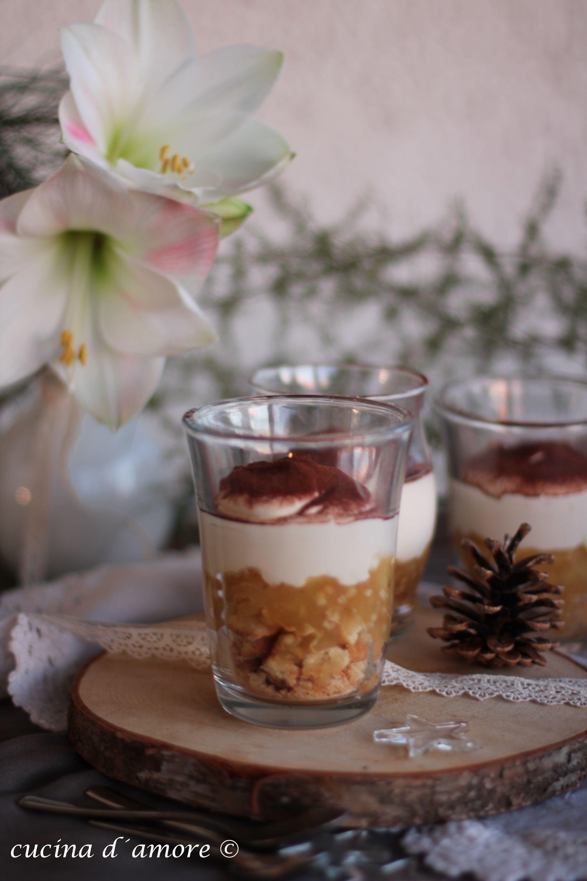 der perfekte nachtisch f r die weihnachtsfeiertage bratapfel tiramisu il dessert perfetto per. Black Bedroom Furniture Sets. Home Design Ideas