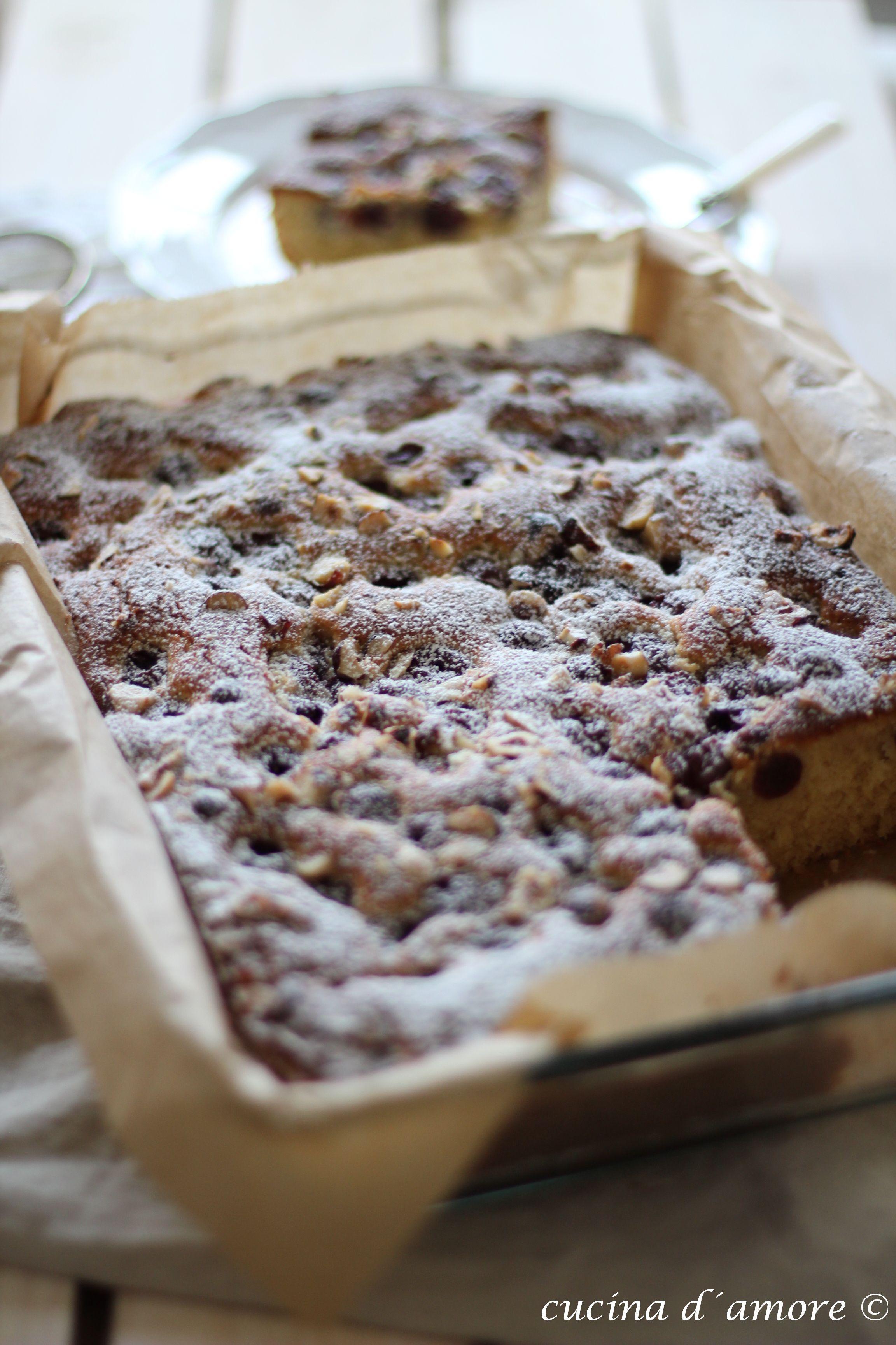 Zu Meinem Geburtstag Ein Rezept Fur Kirsch Mandel Kuchen Mit