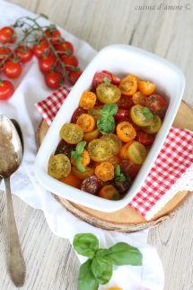Crostata pomodorini; Frischkäse Kuchen mit Tomaten; Last minute Ostern Brunch Rezept; Tarte (1)Crostata pomodorini