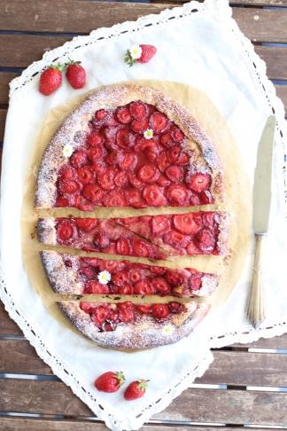 Erdbeer Crostata