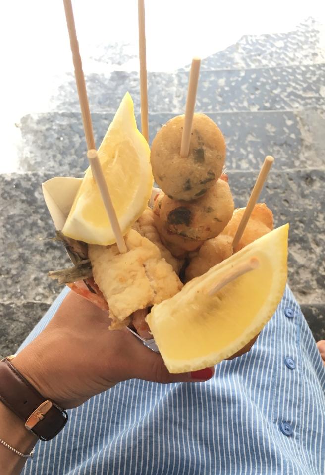 Amalfi Küste Streetfood