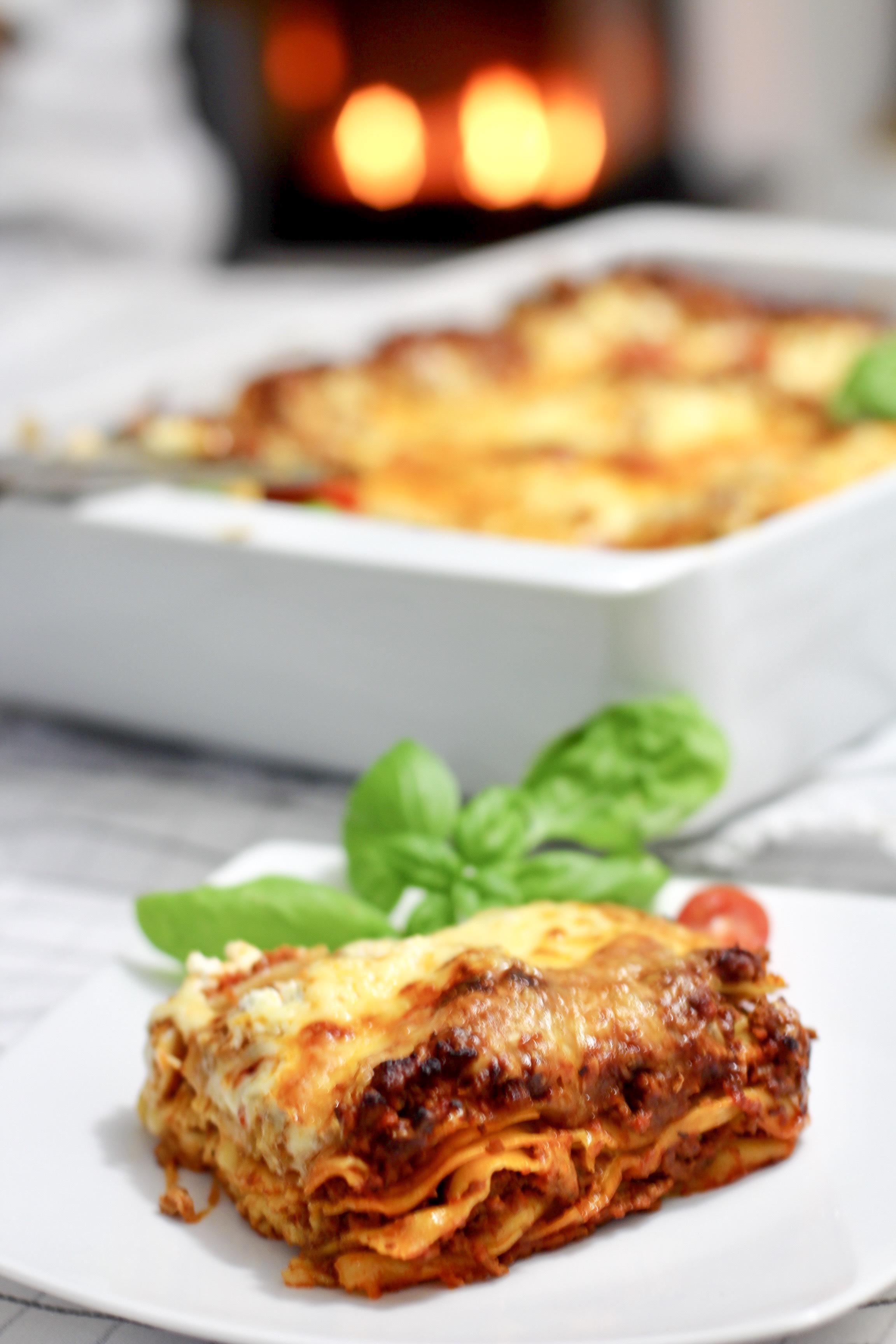 Rezept für eine klassische Lasagne Bolognese – cucina d´amore